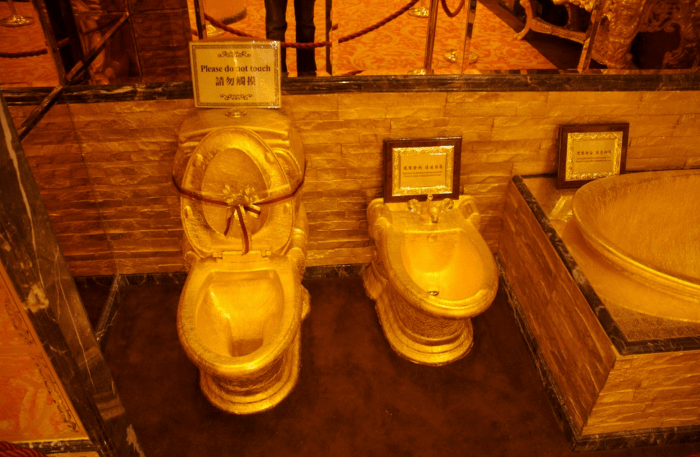 most expensive toilet ever